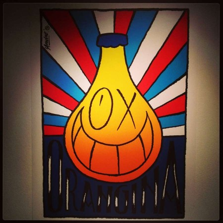 ORANGINA involved artist ANDRE