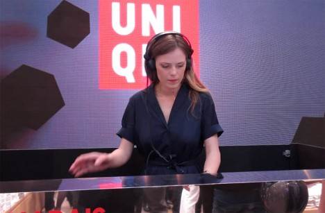 Uniqlo_opening-party_Ines-Melia_flagship_lemarais-paris_traffic-magazine